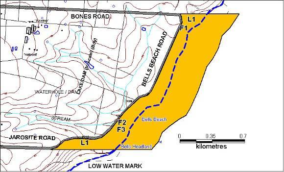 H02032 bells beach extent april 2003