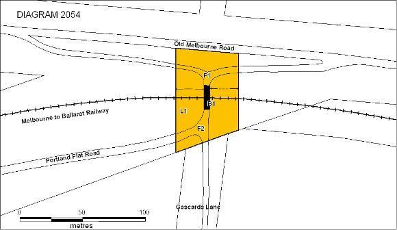 h02054 portland  flat road bridge plan