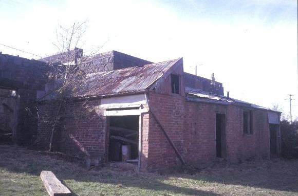 former brinds distillery old melbourne road dunnstown generator shed she project 2003