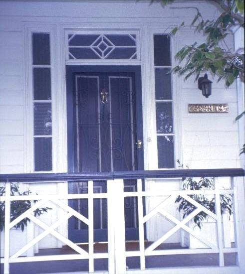h01128 keyham pakington st and cnr aphrasia and somers newtown front door she project 2003