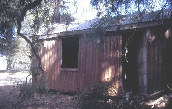 h01131 prefabricated iron cottage mt duneed rd mount duneed front left aspect she project 2003