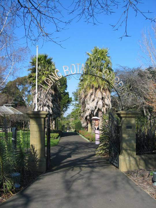 H2095 Geelong Bot Gardens 8.2005 Entry Gates