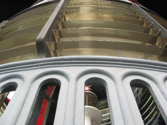 Split Point Lightstation lens array from below