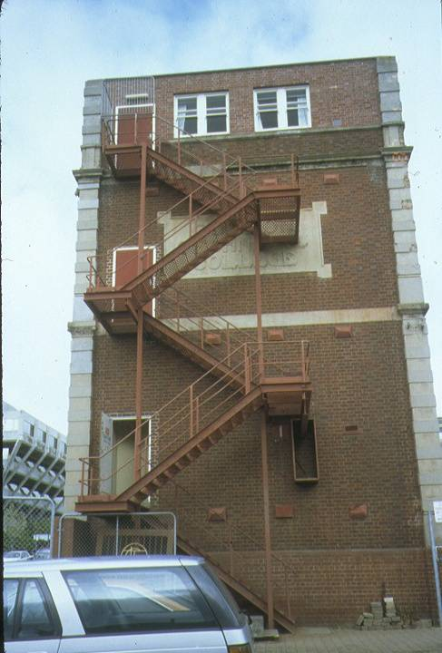 Gordon Technical College Geelong Exterior Staircase August 1995