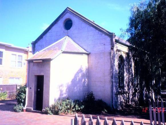 Former Synagogue McKillip St Geelong Exterior North East Corner SHE Project 2003