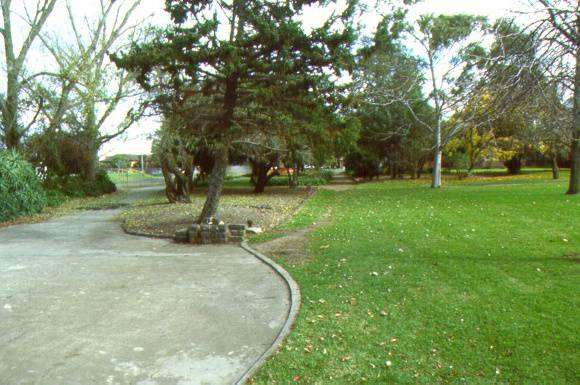 McKay Gardens Path May 2001