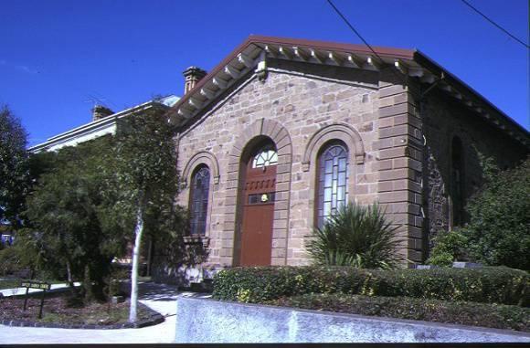 former baptist church aberdeen street newtown chapel front view