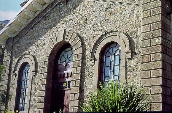 former baptist church aberdeen street newtown front elevation publication