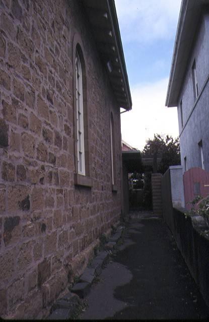 former baptist church aberdeen street newtown side view