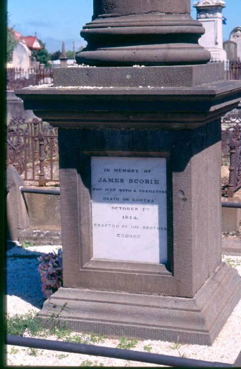 Scobie Grave Detail