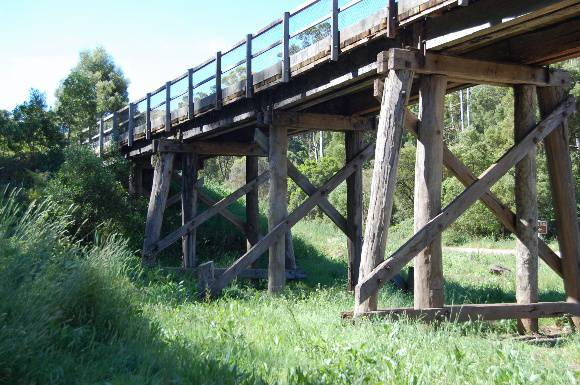 B3711 Curdies River Railway Bridge