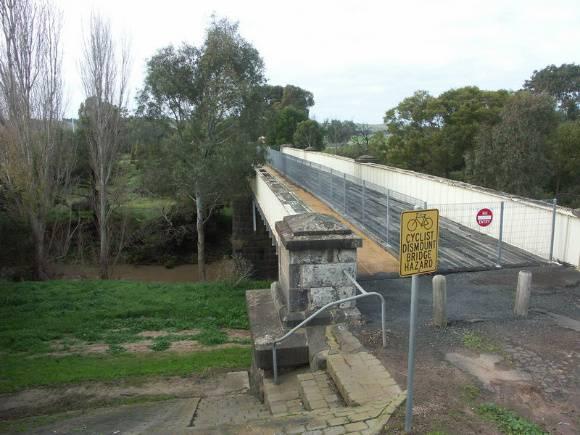 Iron Bridge over Leigh River