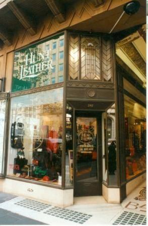 B5971 Block arcade Hunts Leather