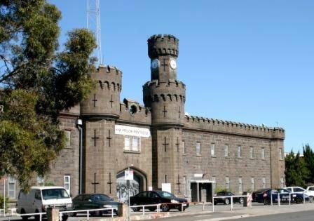 B1303 Pentridge Prison Main Entry
