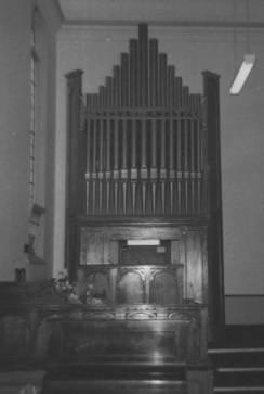 B3644 Organ Church of Christ