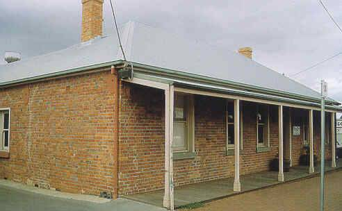 former harp inn packington street geelong west verandah view publication