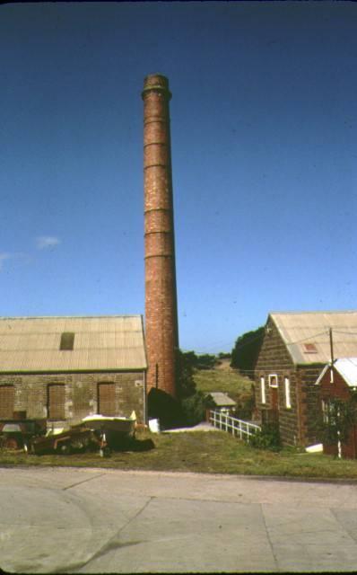 barwon paper mill complex fyansford chimney