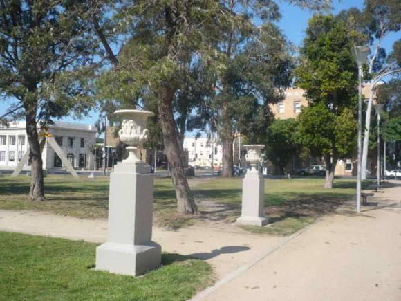 Johnstone Park   De Medici Urns