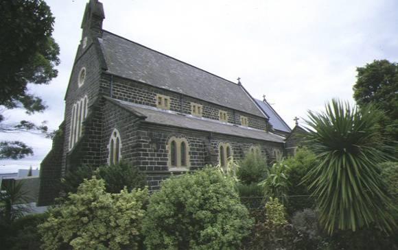 1 church of st peter & st paul mercer street geelong side view apr1997