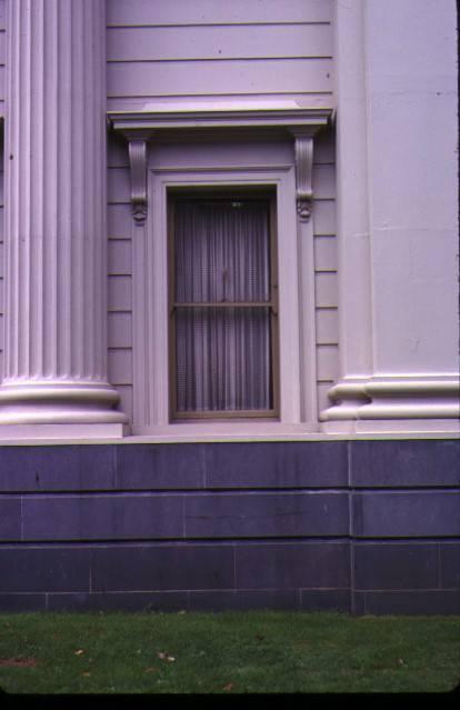 geelong town hall gheringhap street geelong window detail