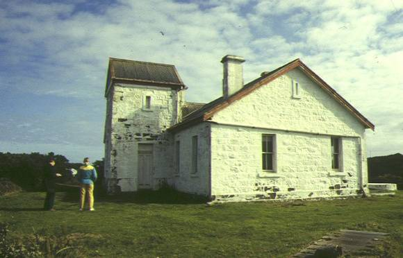 cape otway lightstation signal station rear view aug1996