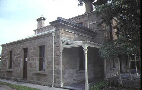 bacchus marsh court house main street bacchus marsh verandah view sep1984