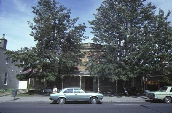 bacchus marsh court house main street bacchus marsh front view sep1984