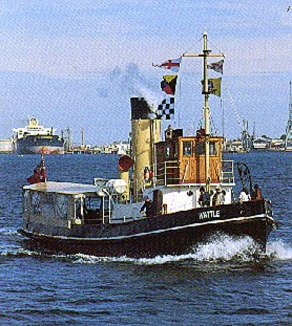 B6443 Steam Tug Wattle