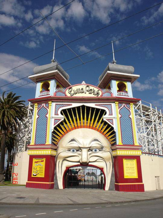 B4872  Luna Park face lights