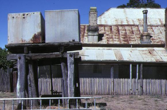 day's flour mill complex murchison corrugated iron building