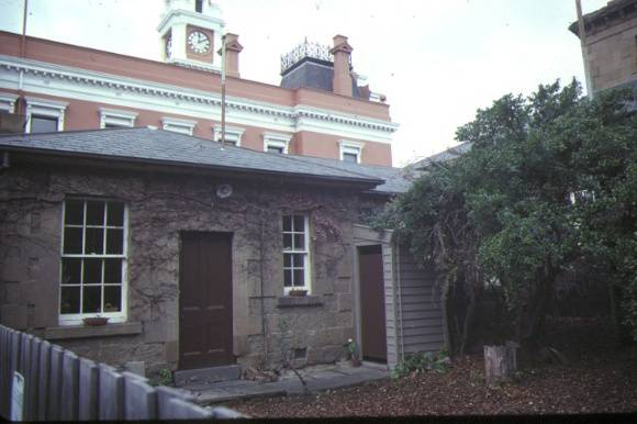 former telegraph station ryrie street geelong rear entry jul1984