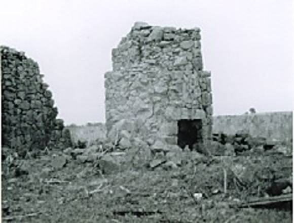 B3627 Herrnhut Ruins