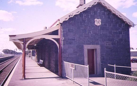 little river station & goods yard school road little river platform side view aug1997