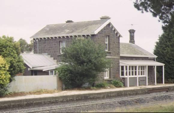 1 former moorabool railway station platform view dec1998