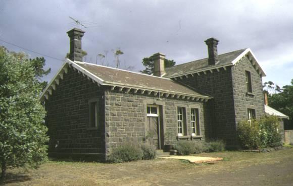 former moorabool railway station front view dec1998