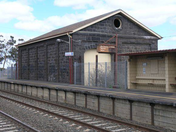 LITTLE RIVER RAILWAY STATION AND GOODS YARD SOHE 2008