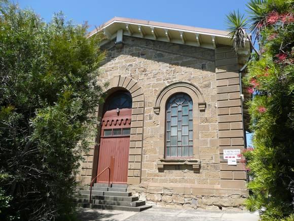 FORMER BAPTIST CHURCH SOHE 2008