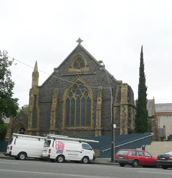 FORMER ST GILES CHURCH AND FREE CHURCH SCHOOL SOHE 2008