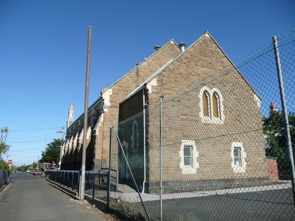 FORMER NEWTOWN METHODIST CHURCH SOHE 2008
