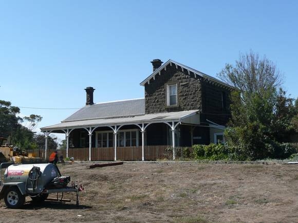BANNOCKBURN RAILWAY STATION SOHE 2008