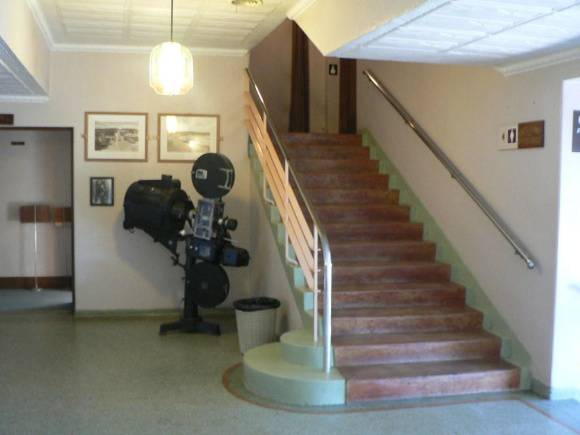 Lorne Cinema detail of foyer and stairs 2009