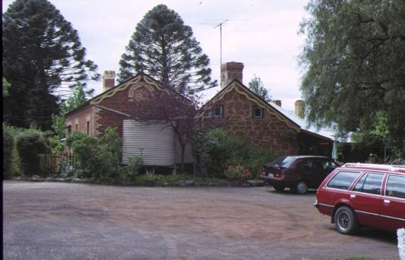 1 millbank grant street bacchus marsh rear view of homestead