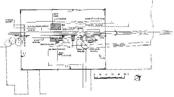 little river railway station plan