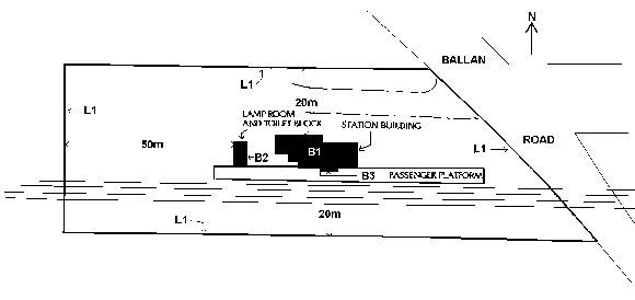 moorabool railway station plan