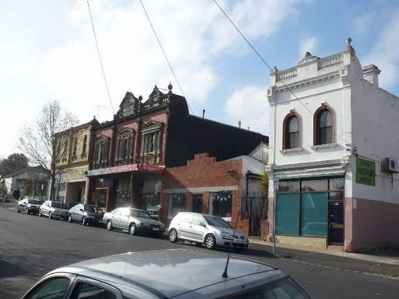 Union Street shops